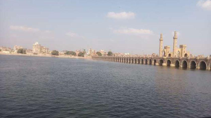 نهر النيل منطقة القناطر - صورة أرشيفية