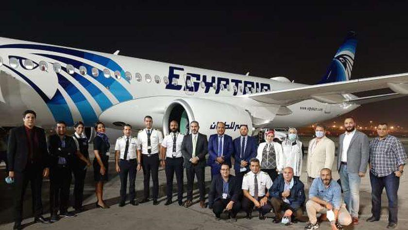 تعرف على مواصفات طائرة مصر للطیران الثانية عشر والأخيرة من طراز إيرباص A220-300