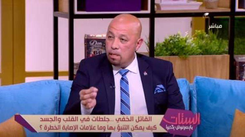 الدكتور هشام صلاح.. أستاذ امراض القلب بطب قصر العيني