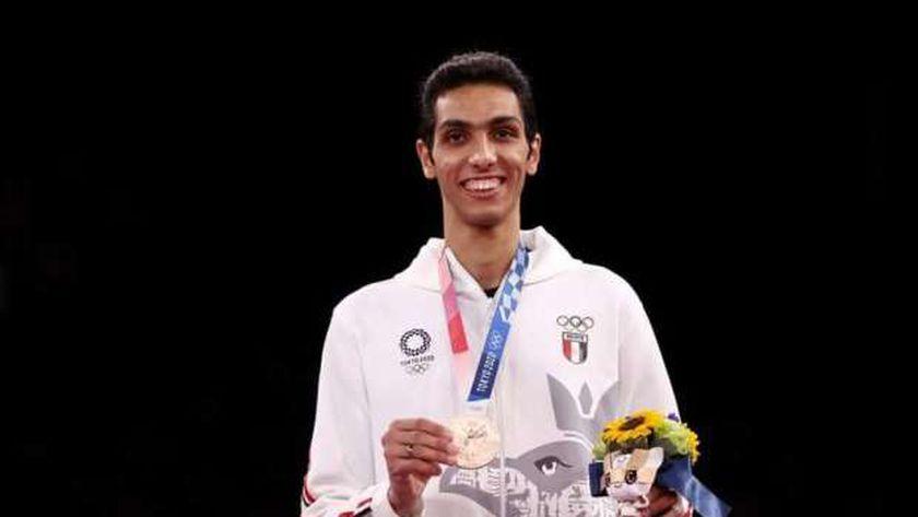 البطل الأولمبي سيف عيسى