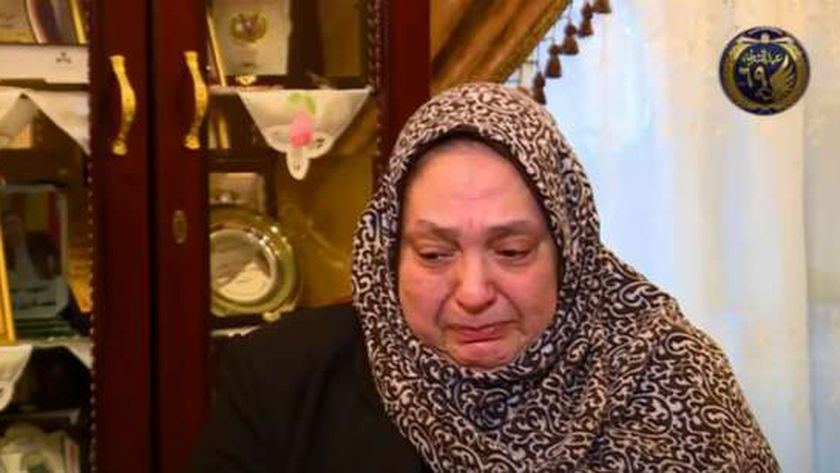 فاطمة فتحي، والدة الشهيد الرائد محمد فاروق وهدان