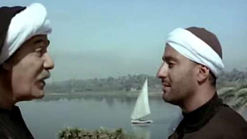 أحمد السقا ومحمود ياسين في مشهد من فيلم الجزيرة