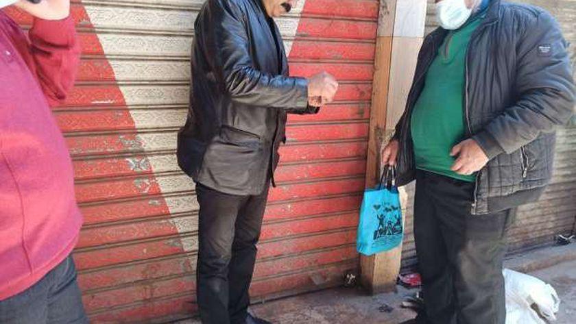 حملة بزهور بورسعيد