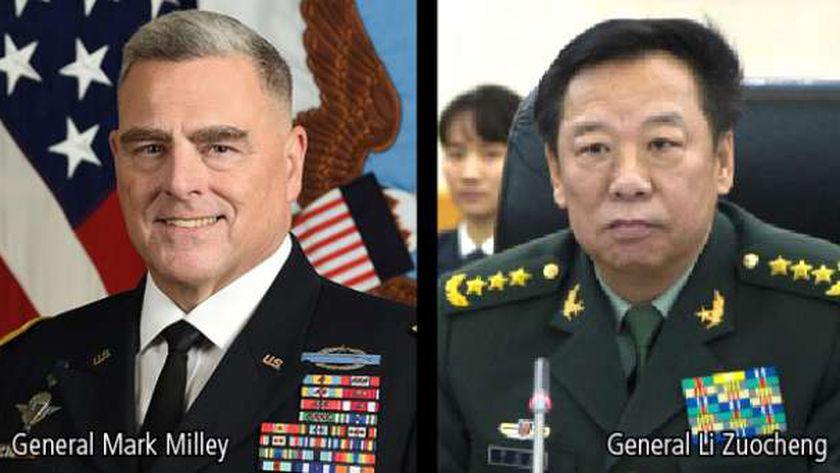 رئيسا الأركان الأمريكي والصيني