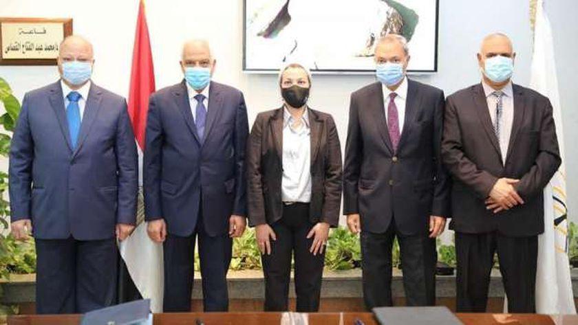 تعاون البيئة ومحافظات القاهرة الكبري