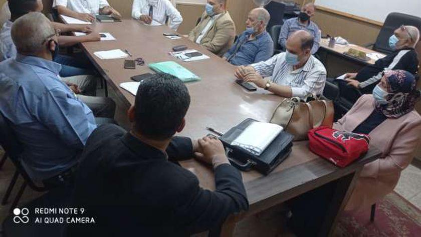 غرفة عمليات تموين الإسكندرية لعيد الفطر