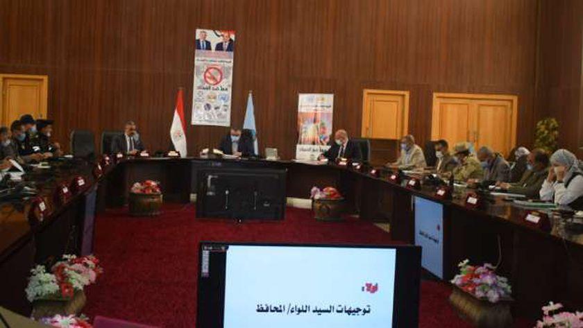 المجلس التنفيذي لمحافظ البحر الأحمر