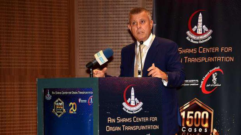 الدكتور محمود المتيني، رئيس جامعة عين شمس -أرشيفية-