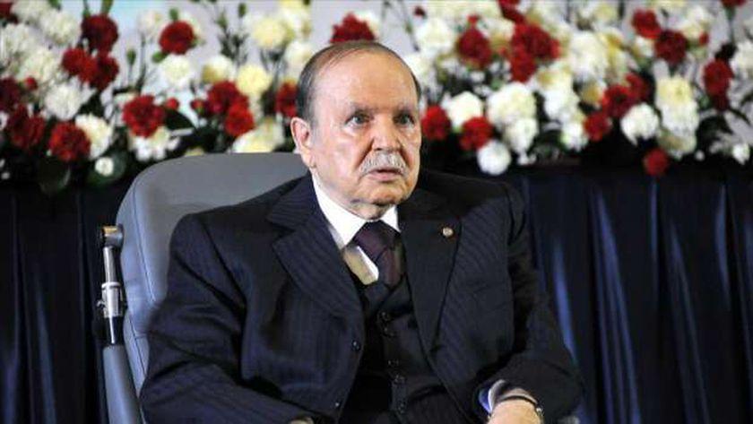الرئيس الجزائري-عبدالعزيز بوتفليقة-صورة أرشيفية