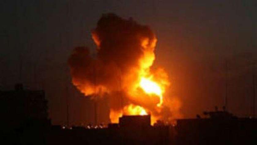 انفجارات منطقة البوكمال