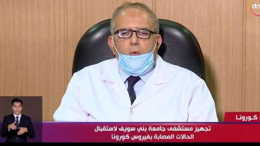 الدكتور عاطف مرسي عميد كلية الطب بجامعة بني سويف