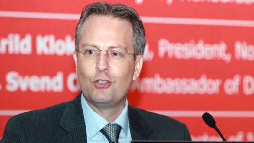 سفير الدنمارك بالقاهرة سڤيند أولينج
