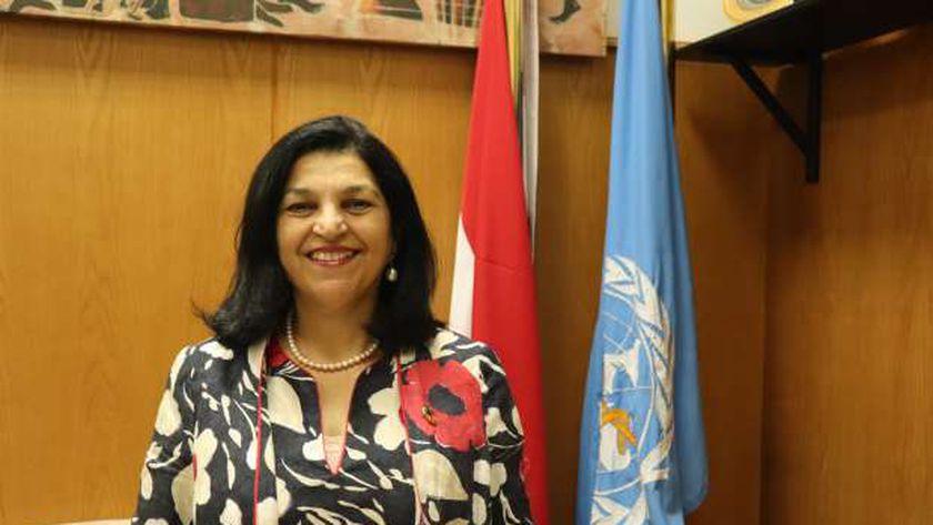 الدكتورة نعيمة القصير، ممثل منظمة الصحة العالمية بمصر