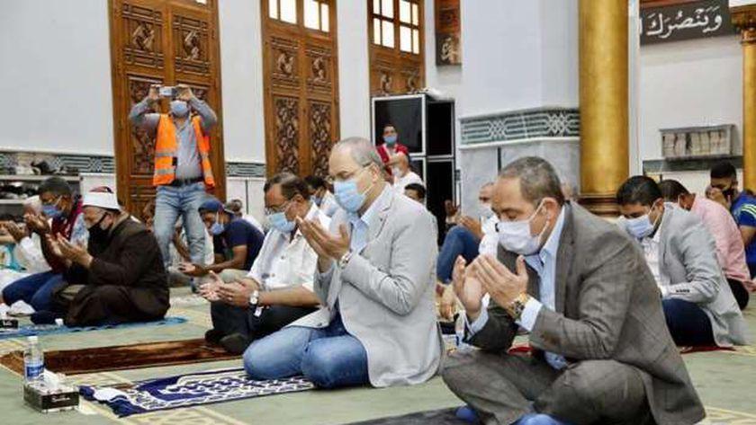 جانب من الصلاة