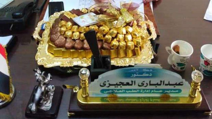 الدكتور عبدالباري العجيزي مدير عام الطب العلاجي بالمنوفية