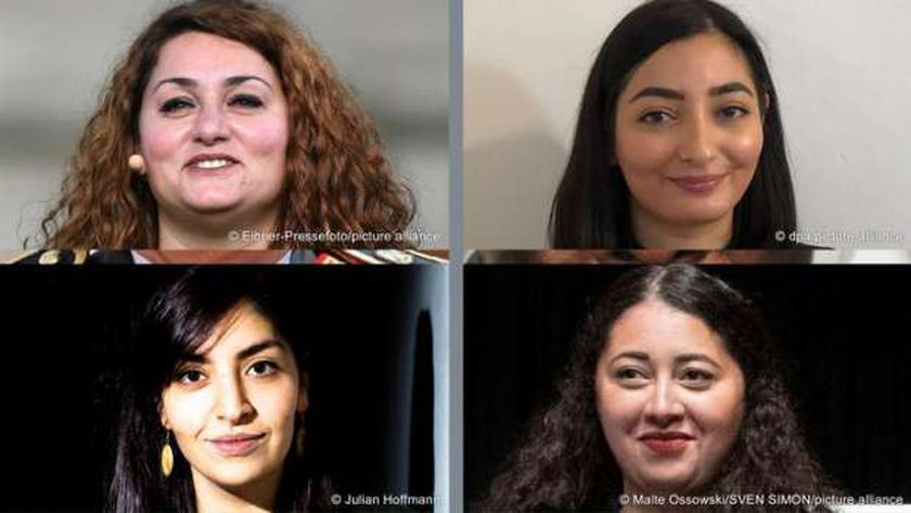 عدد من الفائزات في انتخابات ألمانيا من ذوي الأصول العربية