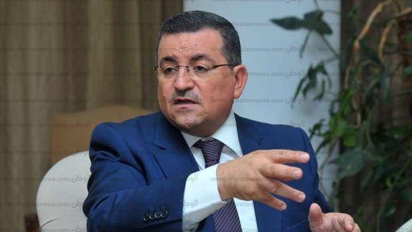 النائب اسامه هيكل رئيس لجنة الثقافه والاعلام بمجلس النواب