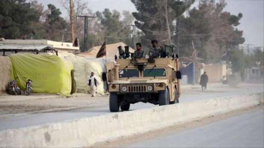 عناصر من القوات الأمنية الأفغانية