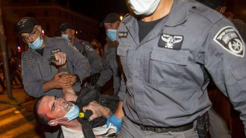 مظاهرات واشتباكات فى اسرائيل