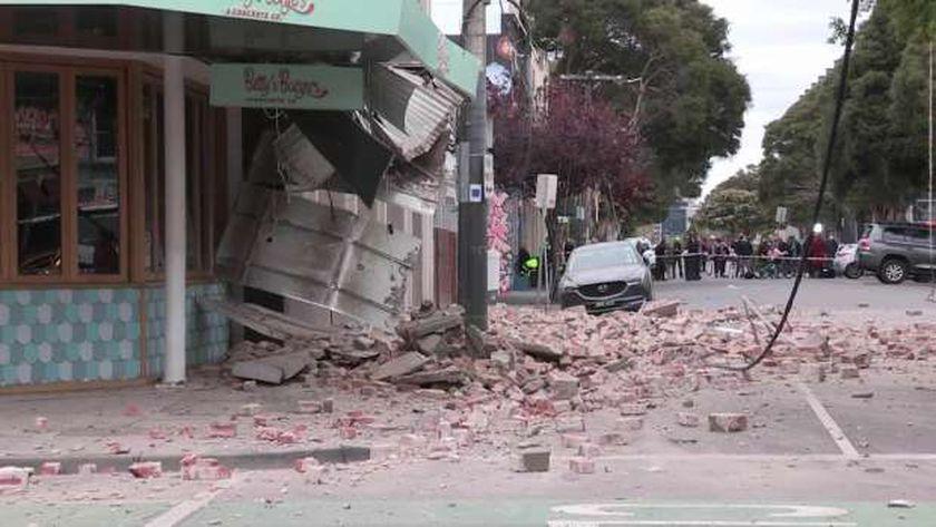 زلزال أستراليا يثير الفزع بين السكان