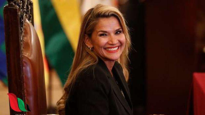 رئيسة بوليفيا