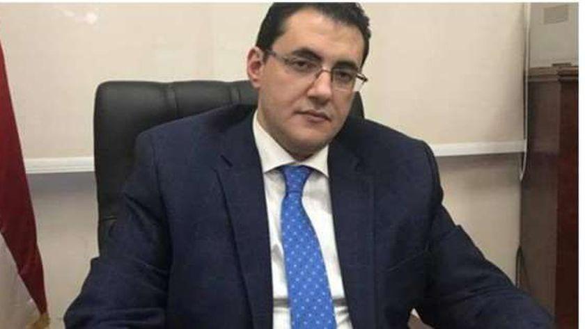 الدكتور خالد مجاهد مساعد وزيرة الصحة والسكان للإعلام والتوعية والمتحدث الرسمي للوزارة