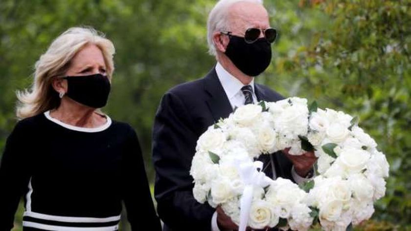 جو بايدن وزوجته