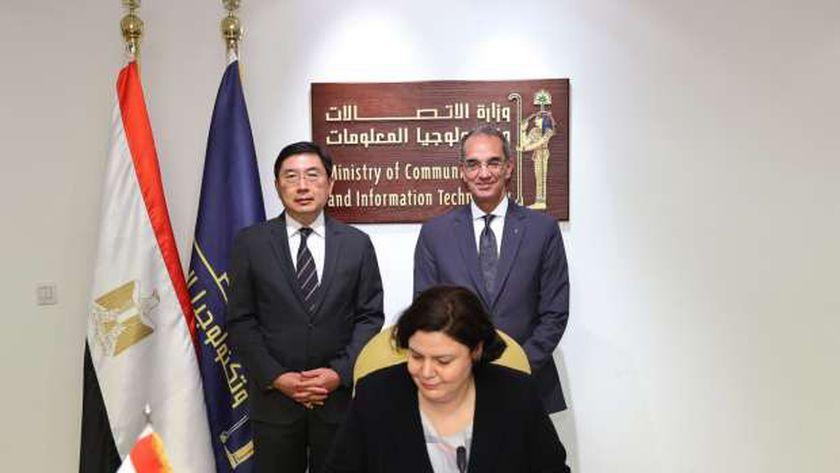 شراكة بين مصر وسنغافورة في مجالات «نشر الذكاء الاصطناعي»