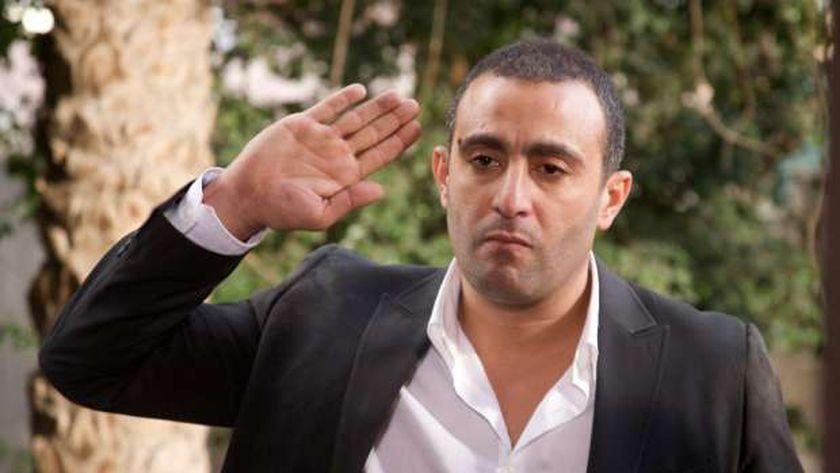 الفنان أحمد السقا في مشهد من أحد أفلامه