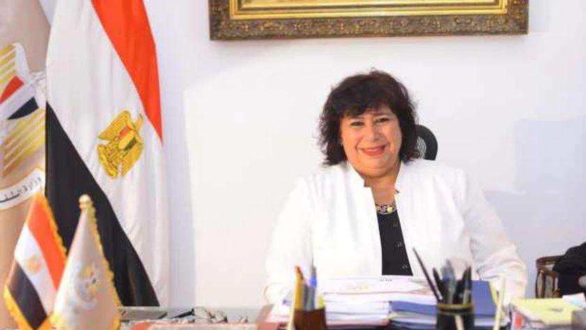 وزير الثقافة إيناس عبد الدايم