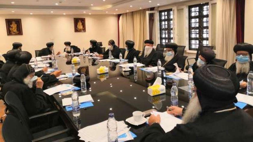 اجتماعات لجان المجمع المقدس