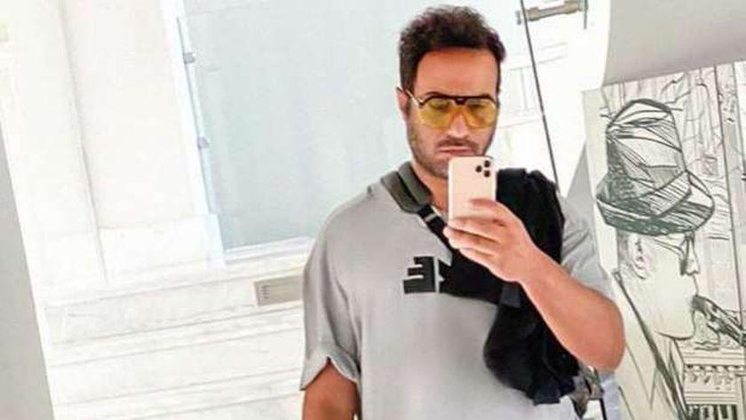الفنان أحمد فهمي