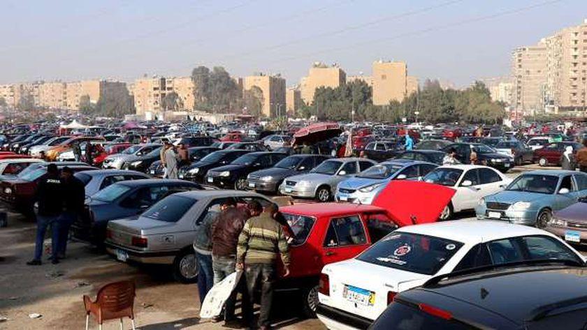 صورة سوق سيارات