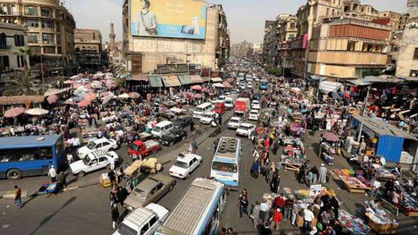 زحام السكان في مصر