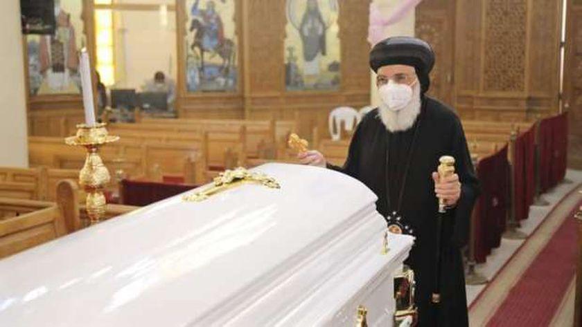 وفاة الانبا سلوانس رئيس دير الشايب