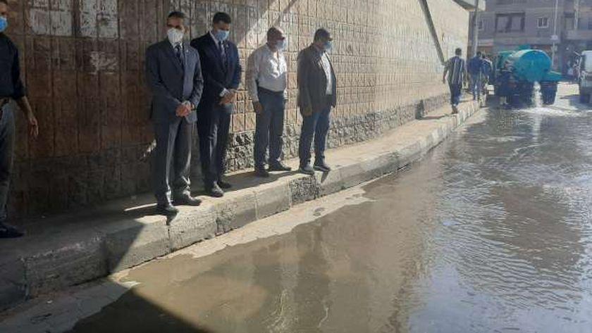 انتشار في المحافظات لمواجهة سقوط الأمطار