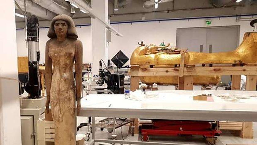 جانب من المتحف المصري الكبير