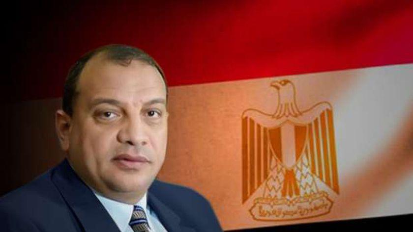 الدكتور منصور حسن، رئيس جامعة بني سويف