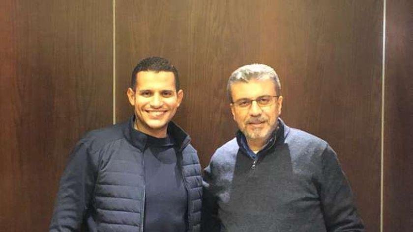 عمر ربيع ياسين مع عمرو الليثي