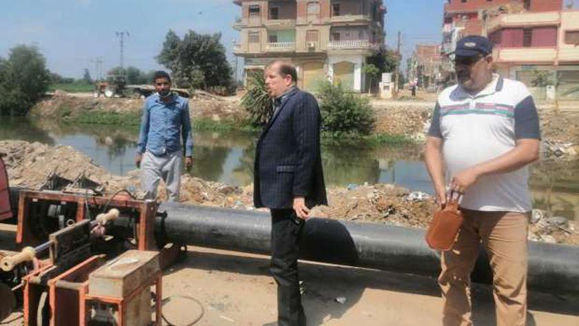 اطلاح الصرف الصحي بكفر الشيخ