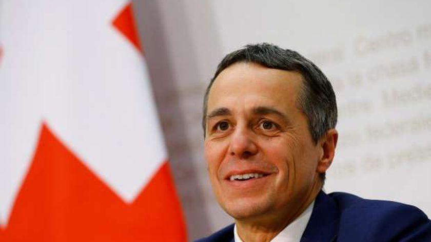 وزير الخارجية السويسري،إجناسيو كاسيس