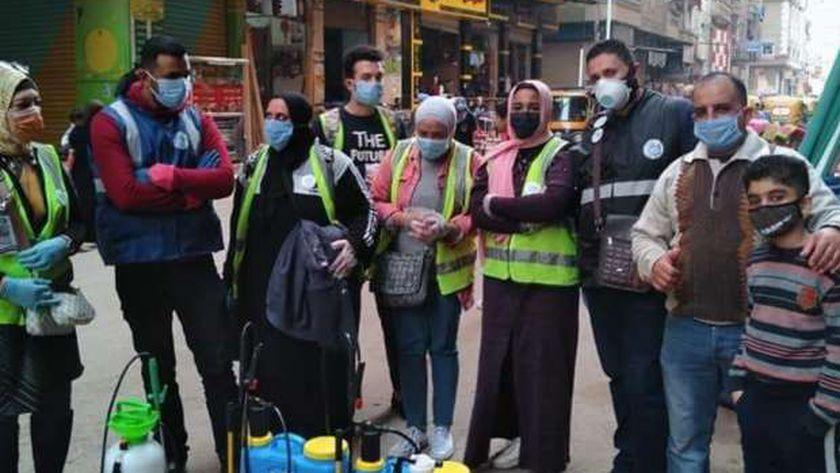 صورة 250 شابا يساعدون مرضى كورونا بالإسكندرية: «بنخدمهم حتى لو هنتعدي» – المحافظات