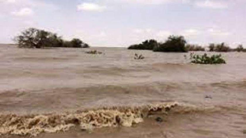السيول تضرب منطقة الكبرة بمحلية النهود بغرب كردفان السودانية