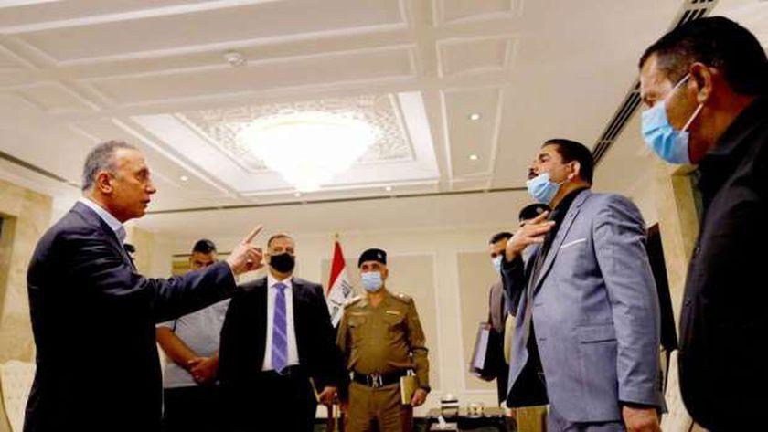 رئيس الوزراء العراقي يستقبل المواطن البرئ