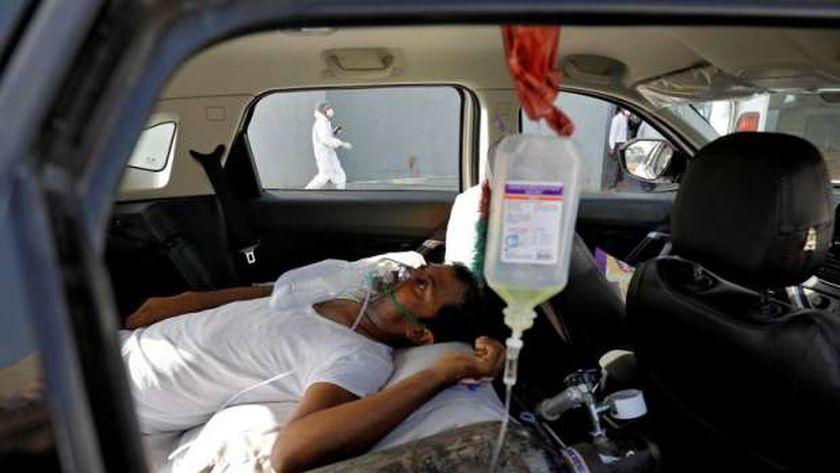 أحد مصابي كورونا في الهند