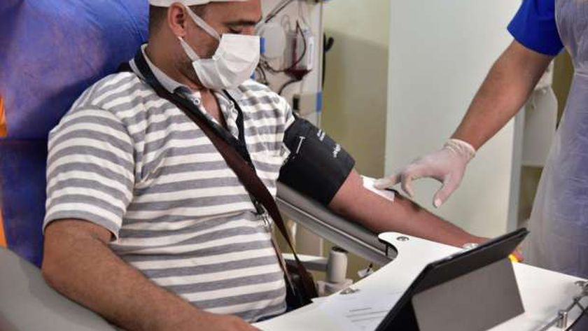 التبرع ببلازما الدم