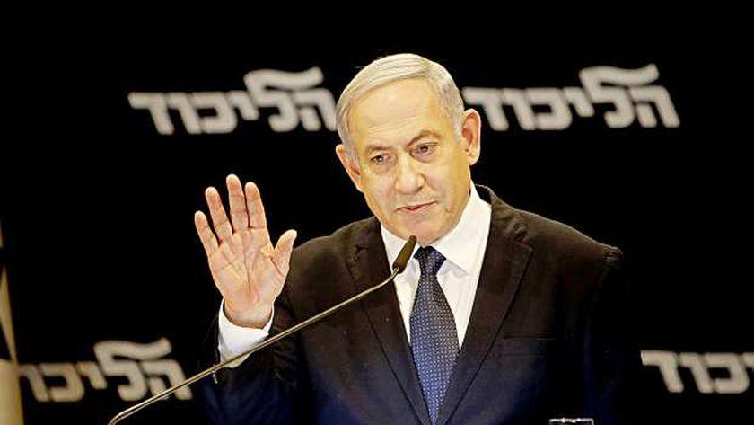 رئيس حكومة الاحتلال الإسرائيلي المنتهية ولايته بنيامين نتنياهو