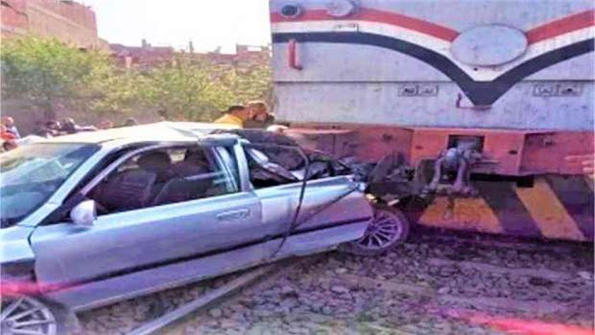 حادث قطار الدقهلية