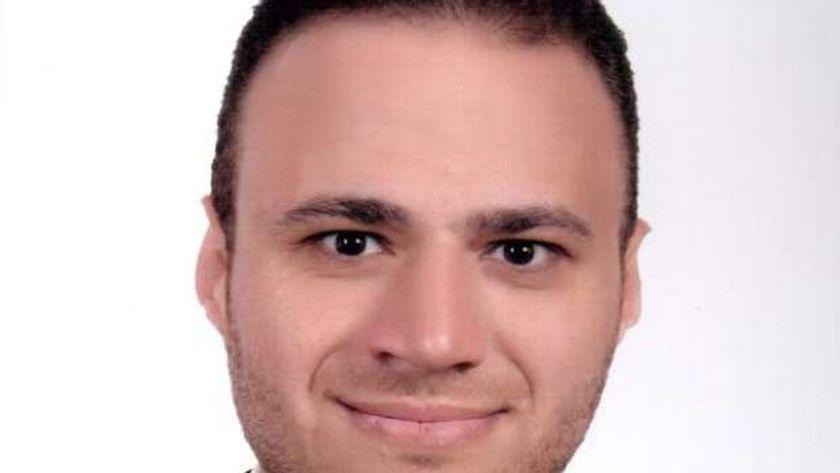 رامي عبد الباقي عضو تنسيقية شباب الأحزاب