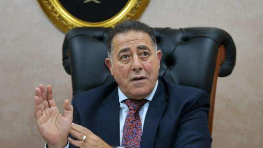 الأمين العام للمجلس القومى لرعاية أسر الشهداء والمصابين